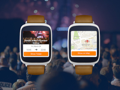 Eventbrite Android Wear App Concept