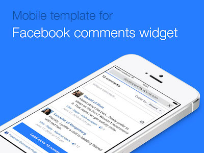 Facebook Comments Mobile Widget