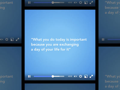 Facebook Video Player UI