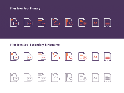 Files Icons