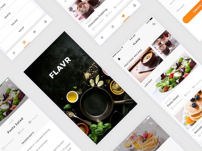 FLAVR Recipes iOS App
