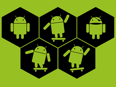 Five Fun Android Icons