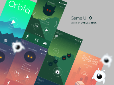 Game UI - Orbia and Bluk