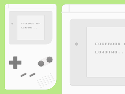 Gameboy UI Template
