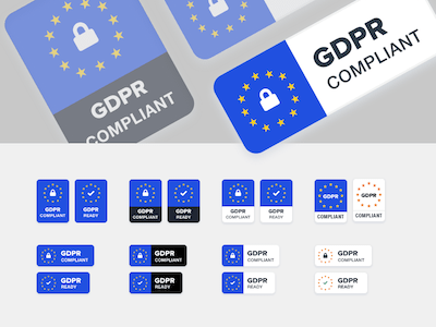 GDPR Compliance Badges