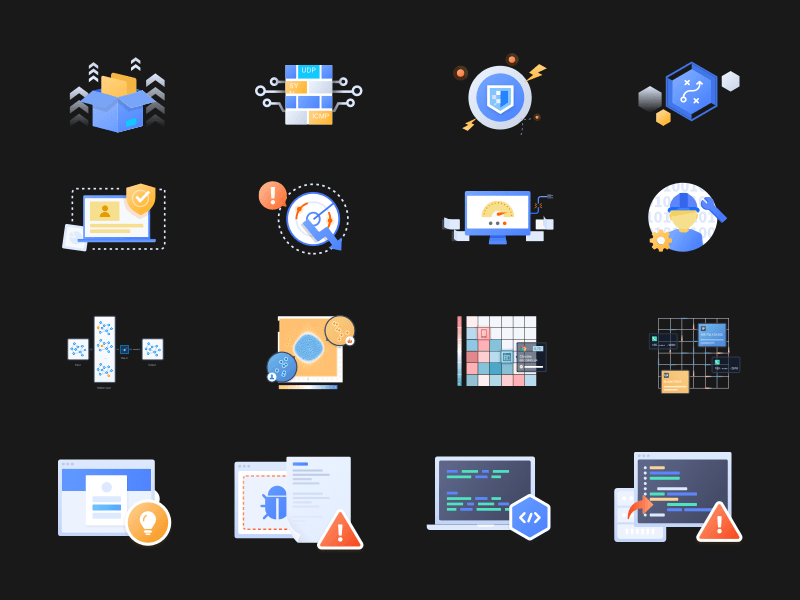 GeeTest Icons and Illustrations