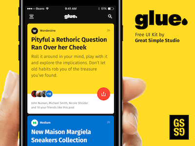 Glue UI Kit