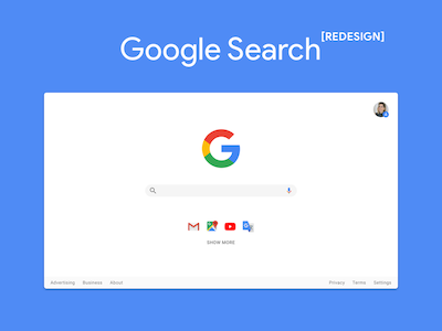 Google Search Redesigned