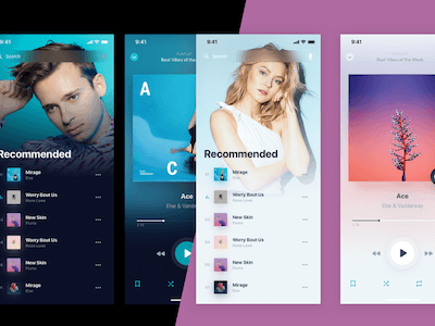 Holo Music Player