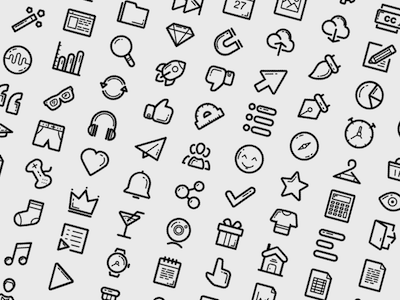 100 Essential Icons
