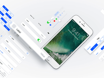 Adaptive iOS 10 UI Kit
