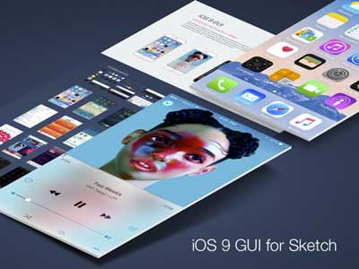 iOS 9 UI Kit