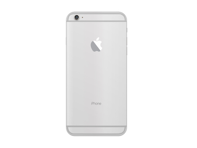 iPhone 6 Plus Silver Back
