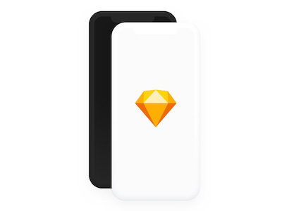 iPhone X Clay Mockup