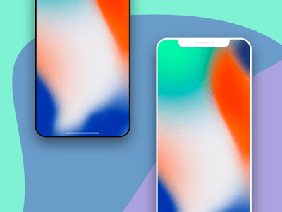 Thin iPhone X Mockups