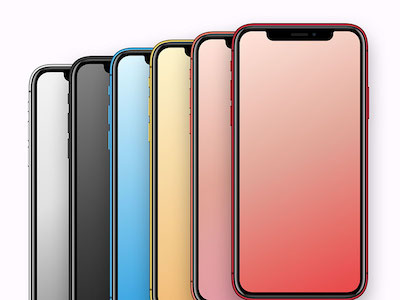 iPhone XR XS Max Colors