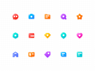 15 Jelly Icons