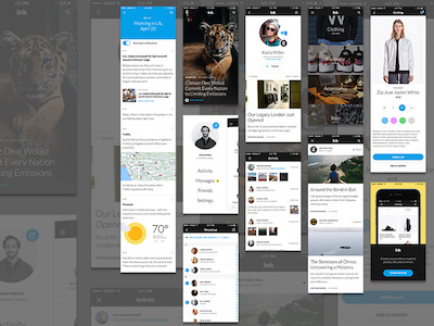 Ink UI Kit Light