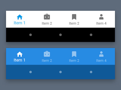 Material Bottom Nav Bar