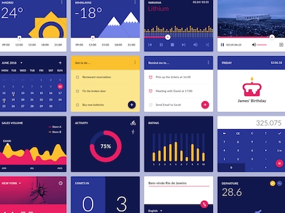 Material Design Widgets Pack