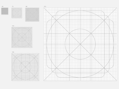 Material Icons Grid
