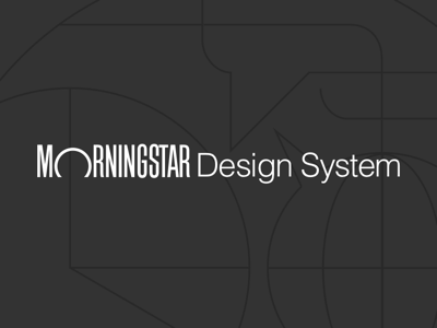 Morningstar Design System