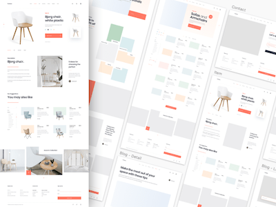 MI Furniture Web Template