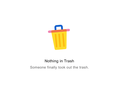 MS Outlook Trash Icon