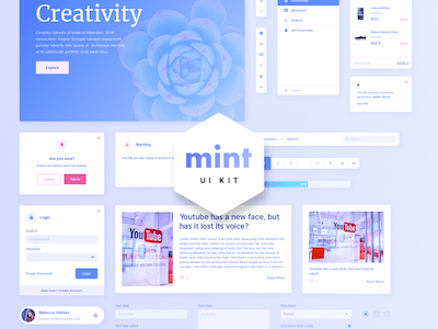 Mint Web UI Kit