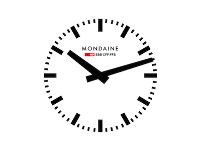 Mondaine Watch Face