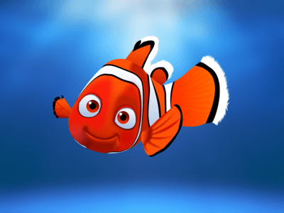 Nemo in Sketch Illustration