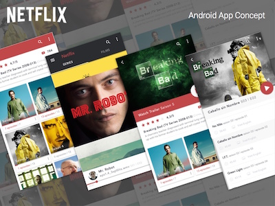 Netflix Series Android App