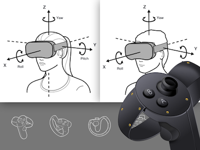 Oculus Illustrations and Icons