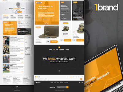 One Brand UI Kit Free Sample