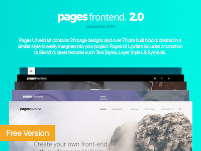 Pages UI Web Kit update 2019