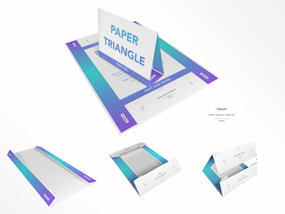 Paper Triangle Template