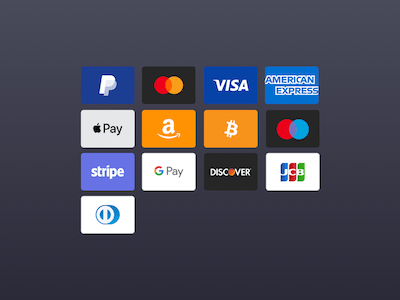 Payment and Credit Card Icons