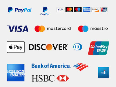 Payment Methods and Bank Logo