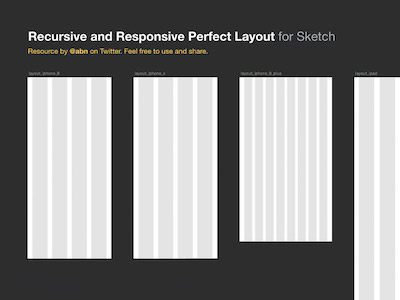 Recursive and Responsive Layout Grid