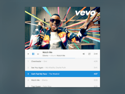 Vevo Embedded Player