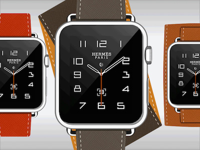 Apple Watch Hermes Template