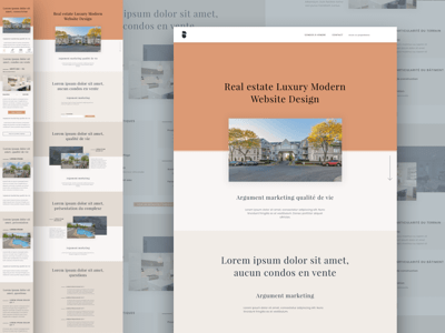 Real Estate Luxury Website Design