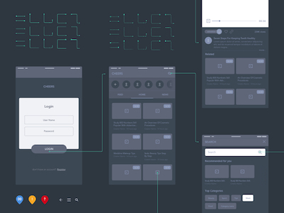 Small Wireframe Kit