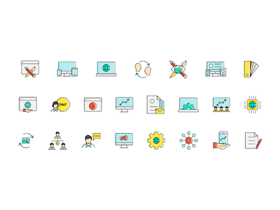 35 Services Icons