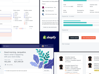 Shopify Polaris UI Kit