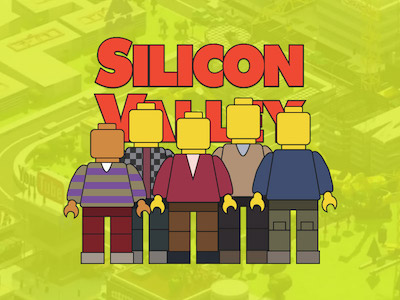 Silicon Valley Lego Minifigs