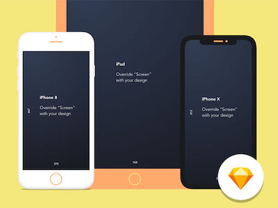 Apple Device Mockup Library