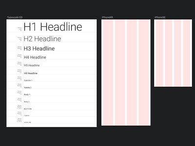 Simple Material Design Text Template