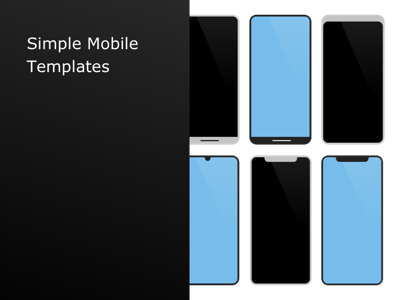 Simple Mobile Templates