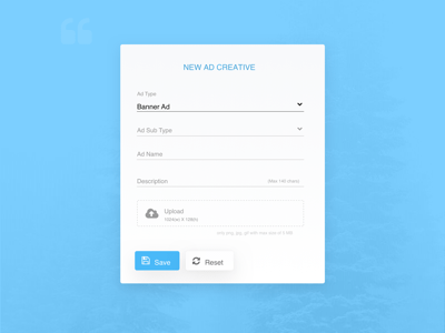 Simple Upload Modal